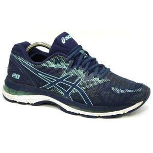 Asics Womens Gel Nimbus 20 Blue Sneakers Size 10.5